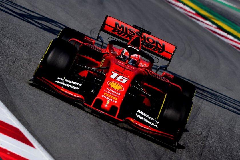 Ferrari - Leclerc 003 - @F1